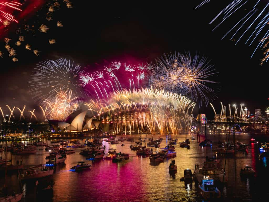 Sydney Australia New Years Eve